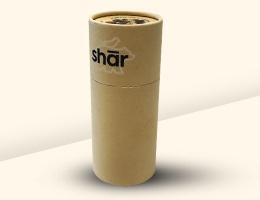 Cardboard tube cylinder packaging