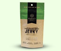 Kraft Paper Beef Jerky Packaging