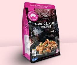 Side Gusset Bag Packaging For Seafood