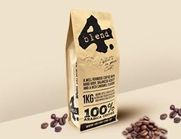 Custom Kraft Packaging Printing For Coffee Beans