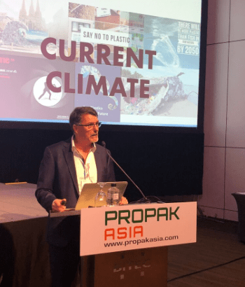 Joe Foster of O F Packaging at ProPak Asia