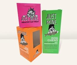 Just Mine Carton For Cat Treats