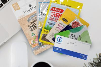 packaging samples & mockups
