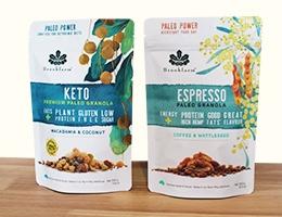 healthy snack packaging
