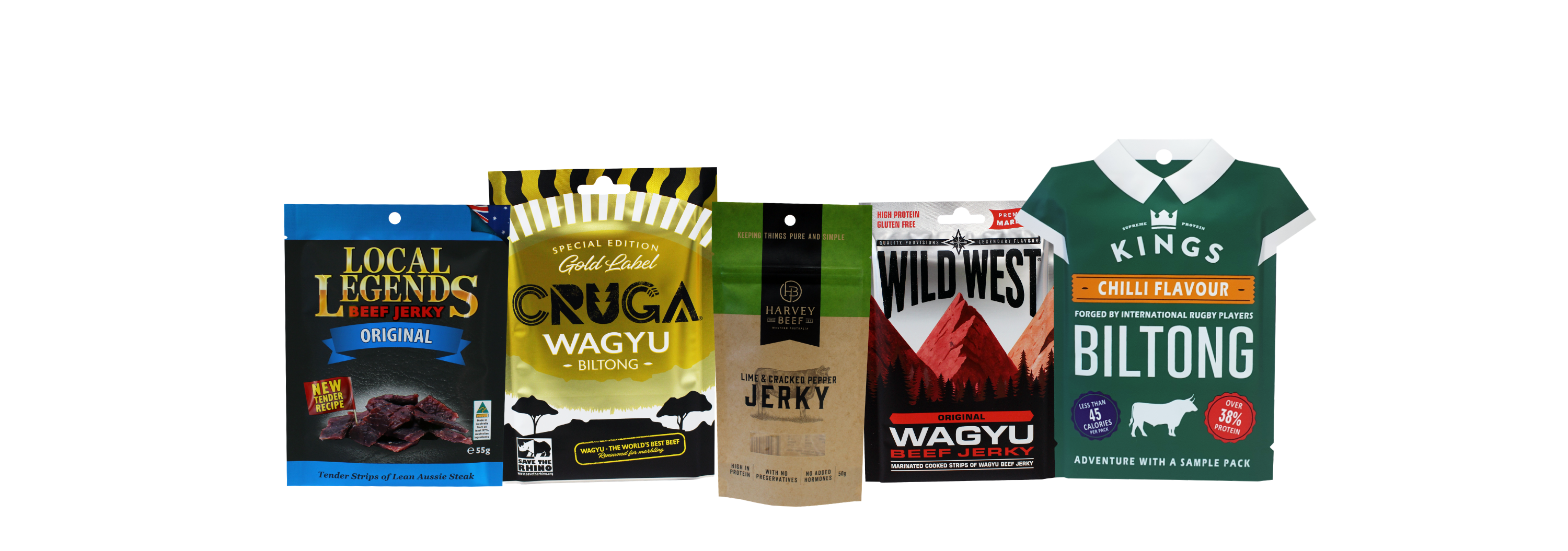 Jerky Packaging by O F Pack