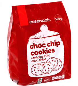Packaging for Biscuits or Cookies