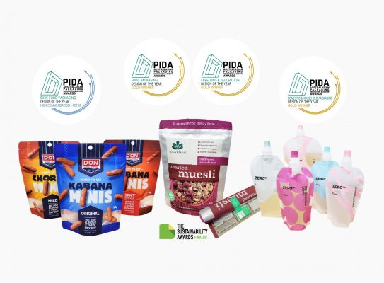PIDA 2021 Packaging Awards Received by O F Packaging