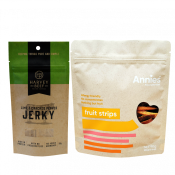 Stand up pouches for jerky brands