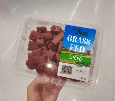 modified atmosphere packaging for beef